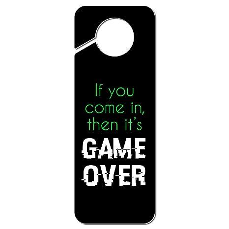 The Circle Game Plastic Door Knob Hanger Sign
