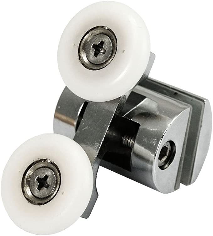 4 x aleación de zinc superior & inferior para mampara de ducha ...