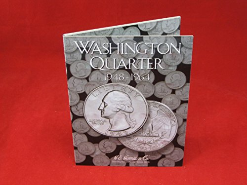 Coin Folder Book Washington Quarter 1948-1964 HE Harris New