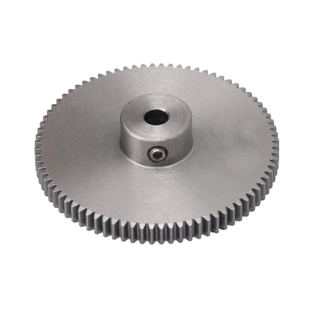 CNBTR Metal 80T Spur Gear 0.5 Module and 4mm Shaft Hole for DIY Micro-genereators Small Machinary. yqltd M6180417045