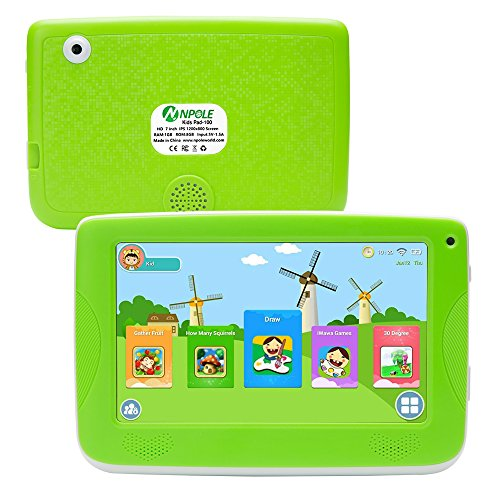 ★FREE SHIPPING★NPOLE Kids Tablets Android 7 Inch 1280x800 ...