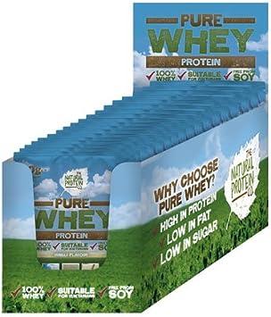 Natural Protein Proteína de suero lácteo en polvo, sabor ...
