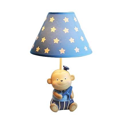 Table Lamp Monkey Small Table Lamp Creative Childrenu0027s Room Boy Cartoon  Cute Nursery Dimmable Bedroom Bedside