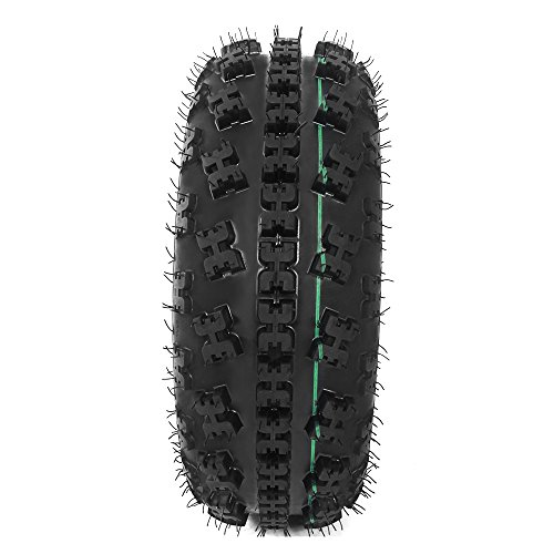 Front Tire Set (2x) 4ply 21X7-10 Sport ATV Tires 21 7 10 21x7x10 Pair by Roadstar (Image #2)