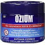 Ozium S Regular Smoke & Odors Eliminator Gel. Home, Office and Car Air Freshener 4.5oz (127g), (Pack of 4) (2-Outdoor Essence & 2-Original), 4 Pack