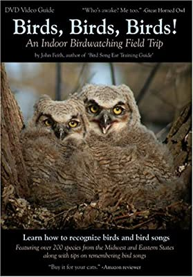 Birds, Birds, Birds! An Indoor Birdwatching Field Trip DVD Video Bird and Bird Song Guide