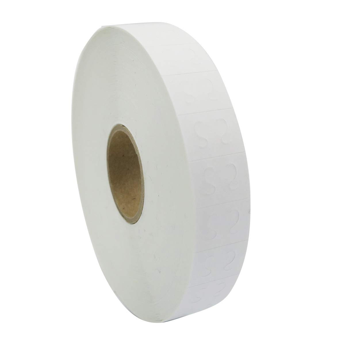 Amram 2 Line Price Marking Labels, White, 1 Sleeve of 25,000 labels (10 Rolls, 2,500 Labels Per Roll) for Monarch 1130. Includes 1 replacement Ink roller.