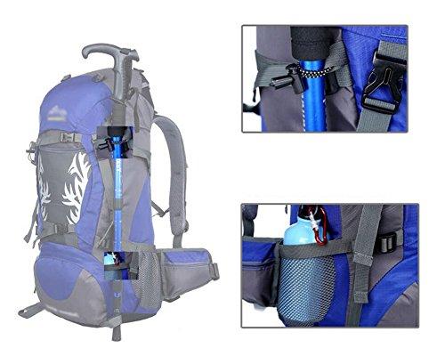 HWLXBB Outdoor Bergsteigen Tasche 50L Anti-Spritzwasser Wasser Licht Reise Bergsteigen Rucksack Männer und Frauen Walking Bergsteigen Tasche ( Farbe : 1* )