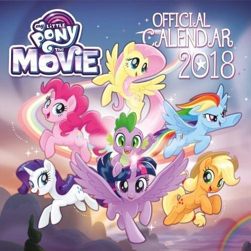 My Little Pony: The Movie Official 2018 Calendar - Square Wall Format