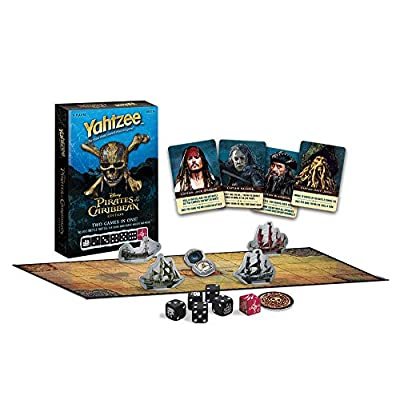USAOPOLY Pirates of The Caribbean Yahtzee Game: Toys & Games