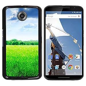Be Good Phone Accessory // Dura Cáscara cubierta Protectora Caso Carcasa Funda de Protección para Motorola NEXUS 6 / X / Moto X Pro // Nature Beautiful Forrest Green 103