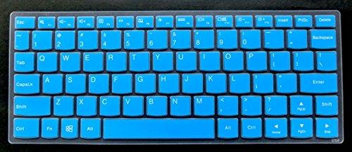 BingoBuy US layout Keyboard Protector Skin Cover for 11.6 Lenovo Yoga 710 11, 710-11 inch, Yoga 900S-12ISK, Flex 4 11-inch, with BingoBuy Card Case for Credit, Bank, ID Card (blue)
