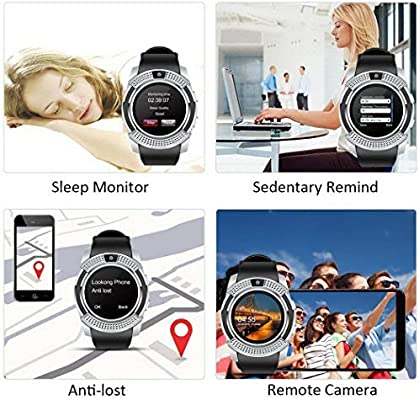ilonti Bluetooth Smart Watch Fitness Podómetro Sleep Monitor ...
