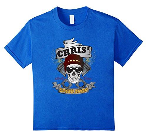 Chris' Speed Shop T-shirt Funny Hot Rod Car Guy -  My Speed Shop Tees