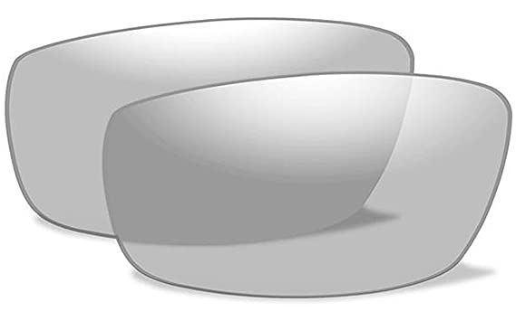 f9444ff01da7 Amazon.com: Wiley X WX ROMER 3 Authentic Replacement Lenses (Non-Polarized  Clear Lens): Clothing