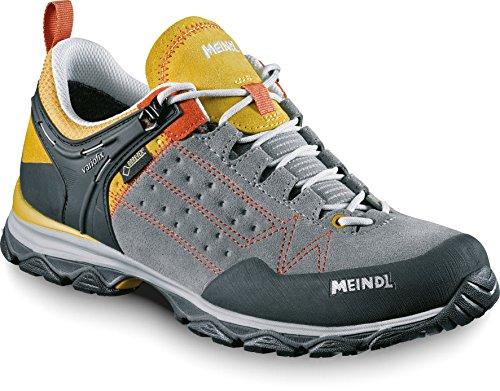 Meindl Meindl Damen Outdoorschuh - Botas de senderismo de Piel para mujer Amarillo gelb/grau Ontario Lady GTX Gris - gris