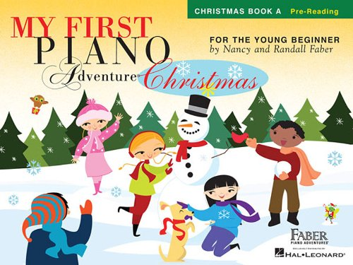 - My First Piano Adventure  Christmas - Book A: Pre-Reading