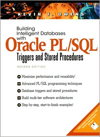 Building Intelligent Databases with Oracle PL/SQL (Bk/CD) (2nd Edition)