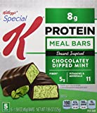 Special K Protein Meal Bars, Chocolatey Dipped Mint, 5 Count (Pack of 6) For Sale