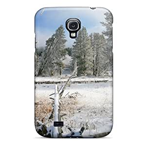 Awesome Case Cover/galaxy S4 Defender Case Cover(broken Fallen Trees In Winter)