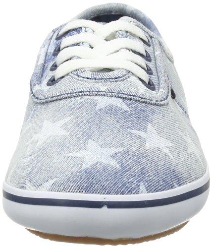Vans Girls Cedar Zapatos Denim Stars Washed.