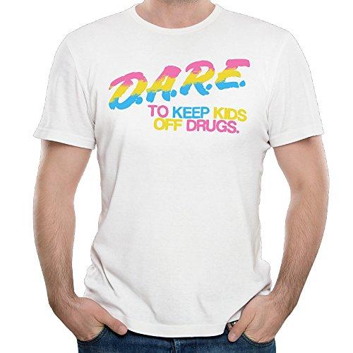 Dare To Keep Kids Off Drugs Men's Tshirt Art