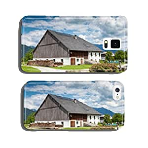 Traditional Alpine farmhouse cell phone cover case Samsung S6