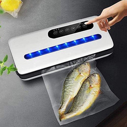 SCJ Lebensmittel-Vakuumiermaschine Vollautomatische Touch-Tasten für die Lagerung und Konservierung von Lebensmitteln mit Trocken- und Feuchtigkeitsmodi für