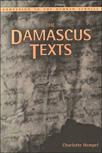 Download Damascus Texts (Companion to the Qumran Scrolls) ebook