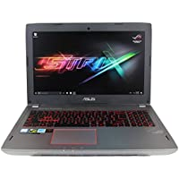 CUK ASUS GL502VS VR Ready Laptop (i7-7700HQ, 32GB RAM, 256GB SSD NVMe + 1TB HDD, NVIDIA GTX 1070 8GB, 15.6 Full HD 120Hz 5ms, Windows 10) - 2017 HTC Vive Compatible Gaming Notebook Computer