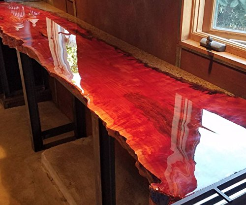 Crystal Clear Bar Table Top Epoxy Resin Coating For Wood