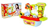 Toyshine Kitchen Set Cooking Toy with, Accessories, (889-56)
