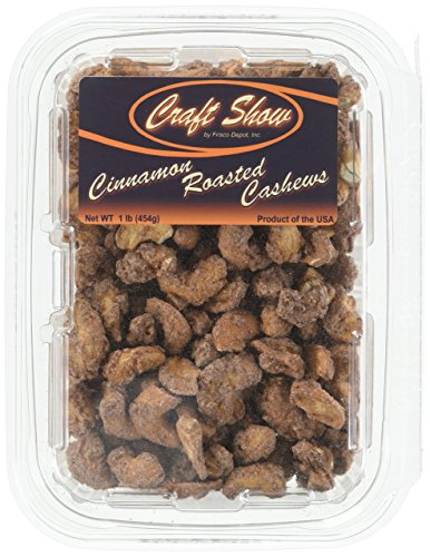 Roasted Cinnamon Cashews Craft Show product image