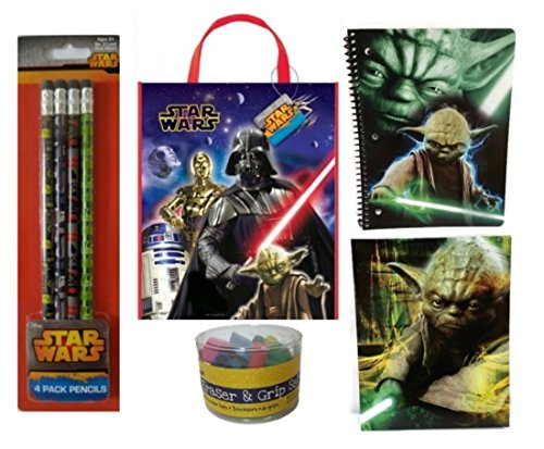 Star Wars Back to School Yoda Deluxe Pack