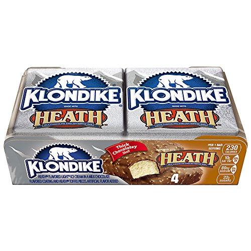 Heath Bar Ice Cream - Klondike, Heath Bar 4x4 Fl Oz. (12 Count)