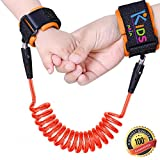 Image of Toddler Safety Harness | Anti Lost Child Safety Wrist Link | Extra Safe Double Velcro Wrist Straps | Baby Soft Skin Friendly Hypoallergenic 100% Cotton | By Aria Kids