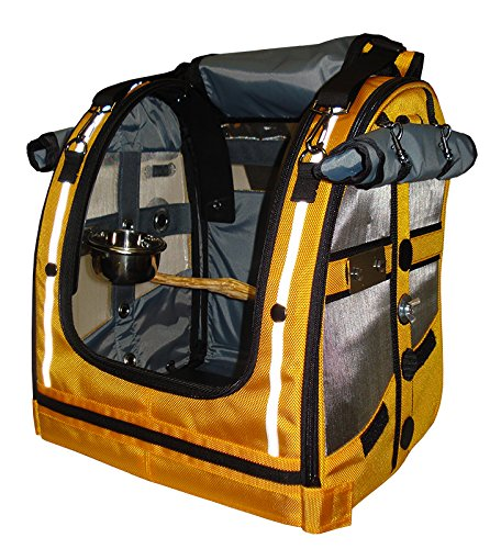 Celltei Pak-o-Bird - Gold color with Stainless Steel mesh - Small (Pak O-bird Carrier)