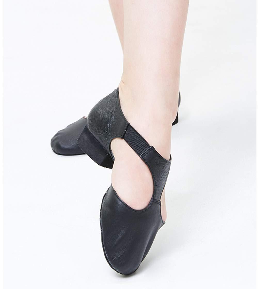 KRUIHAN Zapatos de Baile para Mujeres Zapatillas de Tac/ón Jazz Latino Deportivo Tango Tap Salsa