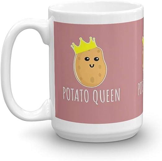 I Love Potatoes Ceramic Coffee Tea Mug Cup