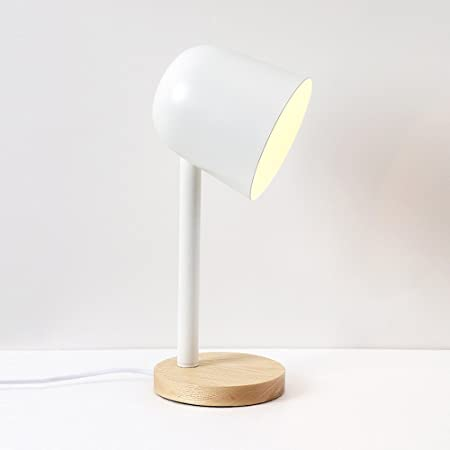DFMD Nórdicos LED lámparas de Mesa, Hierro Forjado Niño Niña de ...