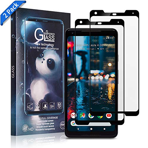 Design Contour Mp3 - TOBOS [2-Pack] for Google pixel 2xl Screen Protector Tempered Glass,[Anti-Fingerprint][No-Bubble][Scratch-Resistant] Glass Screen Protector for Google pixel 2xl