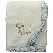 Trend Lab Framed Receiving Blanket, Baby Barnyard