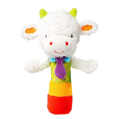 Yonger Baby Development Toys Soft Rattle Kids Shaker Toy Soothe Baby Cute Lamb Shape Rattle Baby Puzzle Toys for Infant, Newborn Birthday Present: Kitchen & Dining