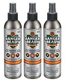 Ranger Ready Repellents Picaridin 20% Tick + Insect Repellent Spray Expedition Pack | Ranger Orange Scent | 3X 235ml/8.0oz