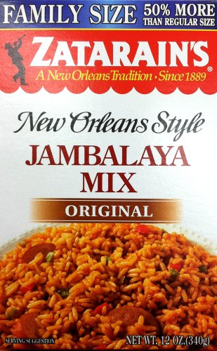 Zatarain's New Orleans Style JAMBALAYA MIX Original 12oz (2 pack)