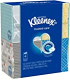 Kleenex Facial Tissue Upright 4 pack (Pack of 2, Total of 8 Boxes)