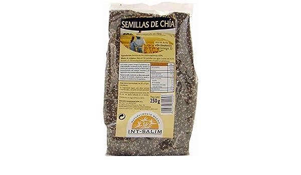 chia semillas bolsa int-salim 250 gr: Amazon.es: Alimentación y ...