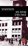 Les Gens d'en face par Simenon