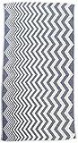 Bersuse 100% Cotton Coronado Dual-Layer Handloom Turkish Towel, 37X70 Inches, Dark Blue