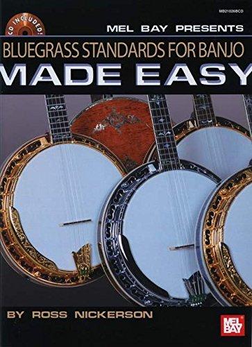 - Bluegrass Standards for Banjo Made Easy Book/CD Set